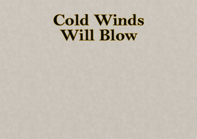 Thom Donovan – Cold Winds Blow (Music Video Treatment)
