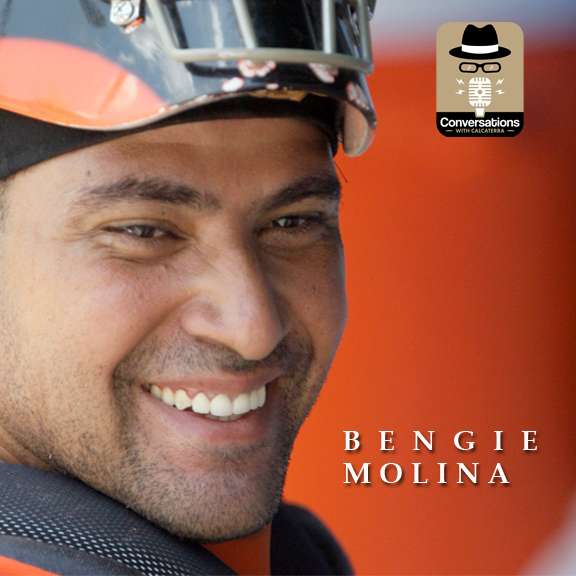EP40 – Bengie Molina (Athlete / Author) – Conversations with Calcaterra